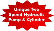 2 Speed Hydraulic Pump