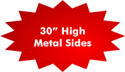30 Inch Metal Sides
