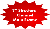 "7"" Channel Main Frame"