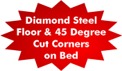 Diamond Plate Steel Floor