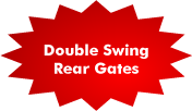 Double Swing Rear Gates