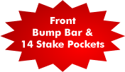 Bump Bar Stake Pockets