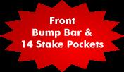 Bump Bar Stake Pockets