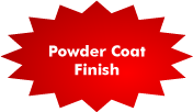 Powder Coat Finish
