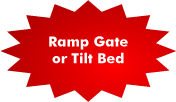 Ramp Gate Tilt Bed