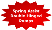 Spring Assist Double Hinged Ramps