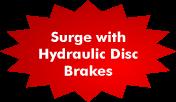 Surge Hydraulic Brakes