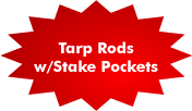 Tarp Rods & Stake Pockets