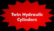 Twin Hydraulic Cylinders