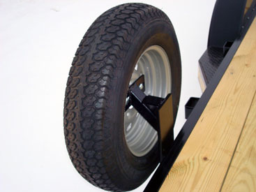 Trailer Bolt On Spare Tire Mount Johnson Trailer Sales