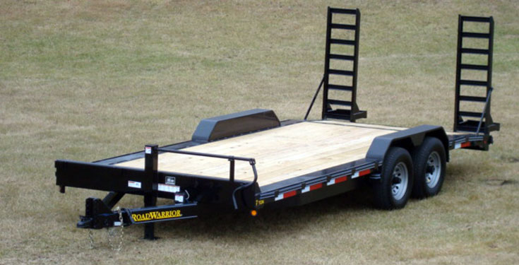 102 Inch Wide Equipment Trailer