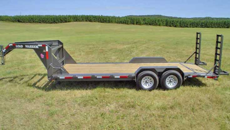 "102"" Wide Low Profile Trailer Option"