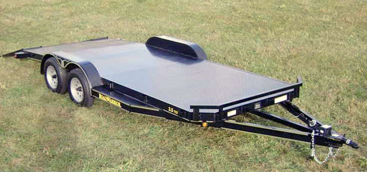 car hauler steel floorg steel floor car hauler trailer johnson trailer co Car Hauler Truck at highcare.asia