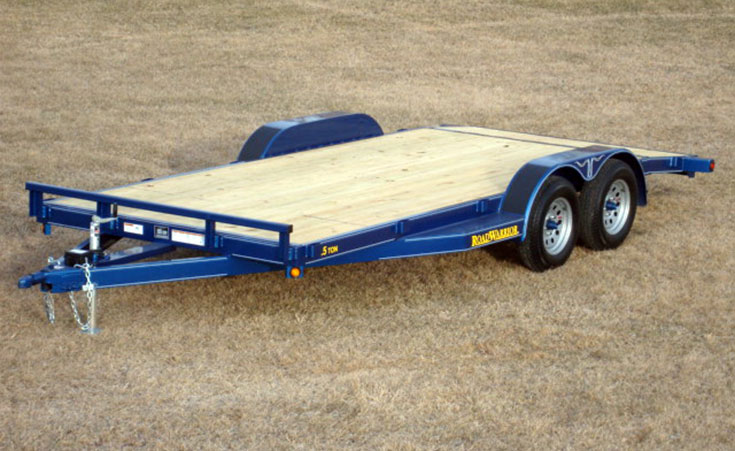 Car Hauler Trailer - Wood Floor