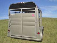 calico horse trailers calico stock trailers johnson. Black Bedroom Furniture Sets. Home Design Ideas