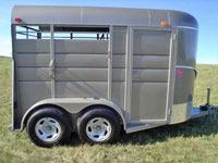 calico horse trailers calico stock trailers johnson. Black Bedroom Furniture Sets. Home Design Ideas