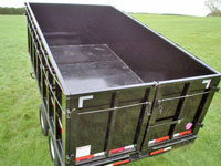 Single Axle Utility Trailer w/Flatbed, Johnson Trailer, Colfax Wisconsin