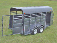 calico horse trailers calico stock trailers johnson trailer sales colfax wisconsin. Black Bedroom Furniture Sets. Home Design Ideas