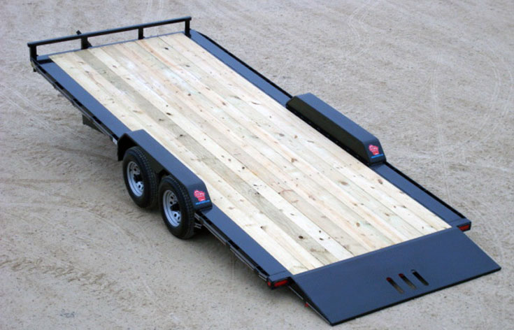 "5 Ton 102"" Wide Tilt Trailer"