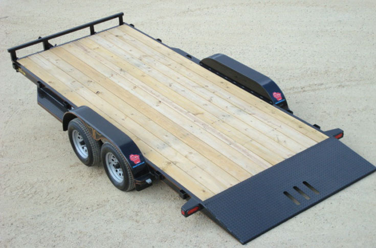 3 5 Ton Car Hauler Tilt Bed Trailer Johnson Trailer Co