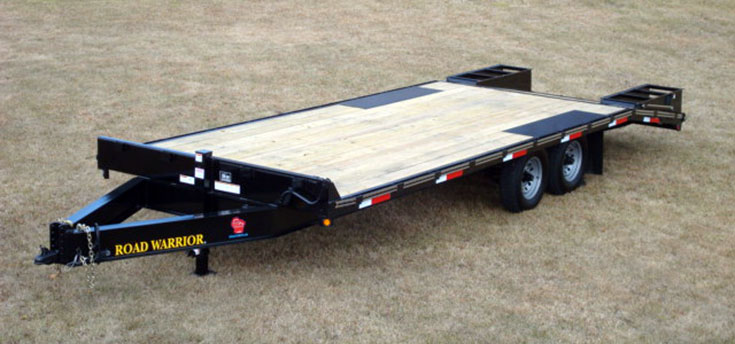 Tilt Bed Deck Over Trailer Best Load Angle