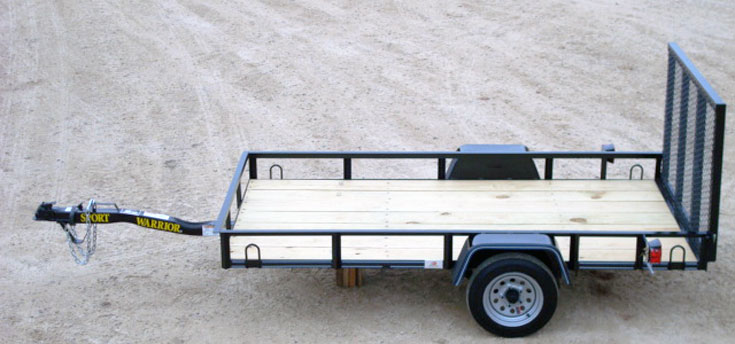 Mini Single Axle Trailer