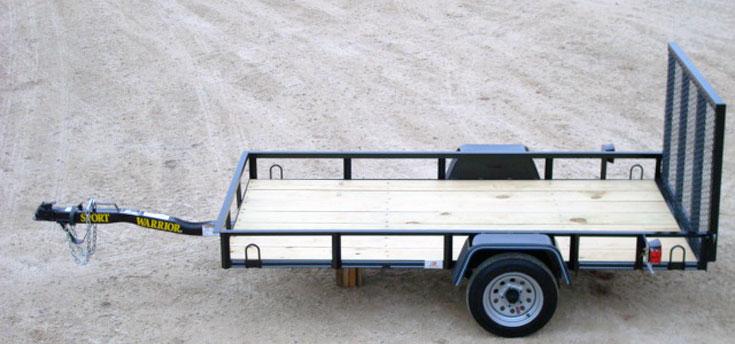 Mini Single Axle Trailer