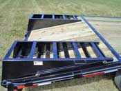 Dove Tail Ramp Trailer