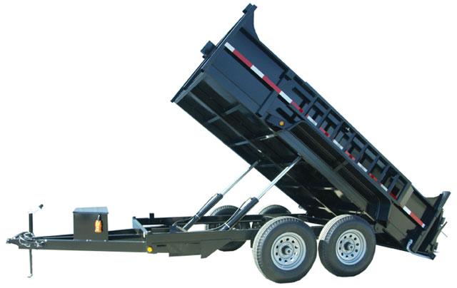 6 & 7 ton Dump Trailer