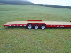 Low Profile Tri Axle Gooseneck Johnson Trailer Sales