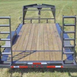 102 Wide Low Profile Trailer Option