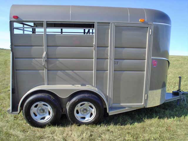 2 horse trailer 3 calico stock & horse trailers johnson trailer co  at aneh.co