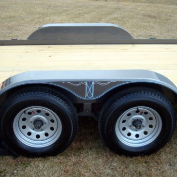 3.5 Ton Skidsteer Equipment Trailer