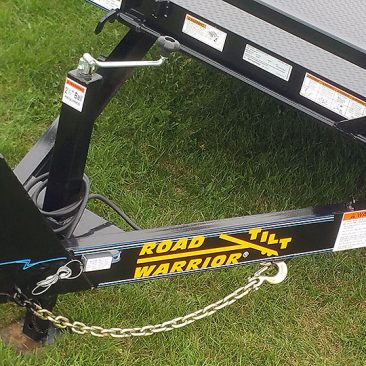 5 Ton Low Angle Tilt Bed Trailer