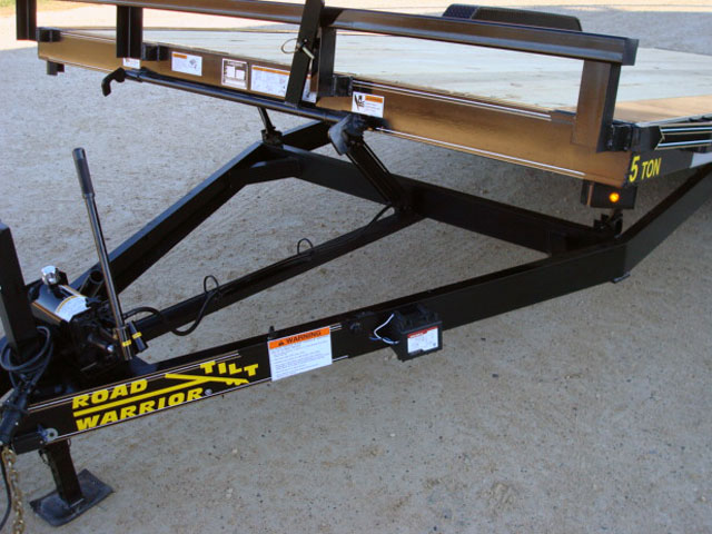 102 Quot Wide Tilt Trailer Option Johnson Trailer Co