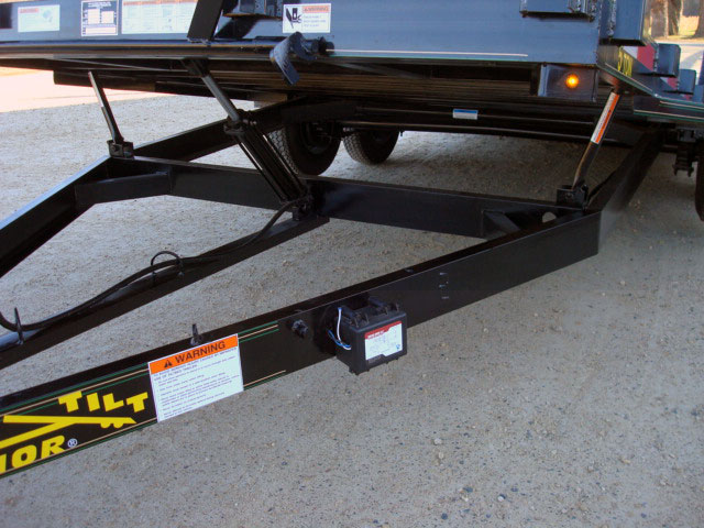 5 ton car  u0026 equipment tilt bed trailer