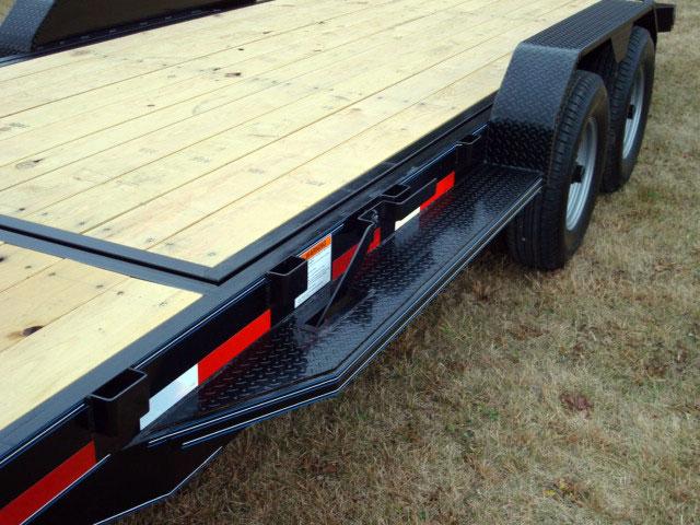 7 Ton Equipment Gravity Tilt Bed Trailer Johnson Trailer Co