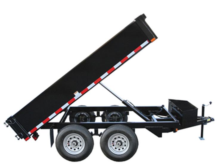 3 5 ton hydraulic dump trailer