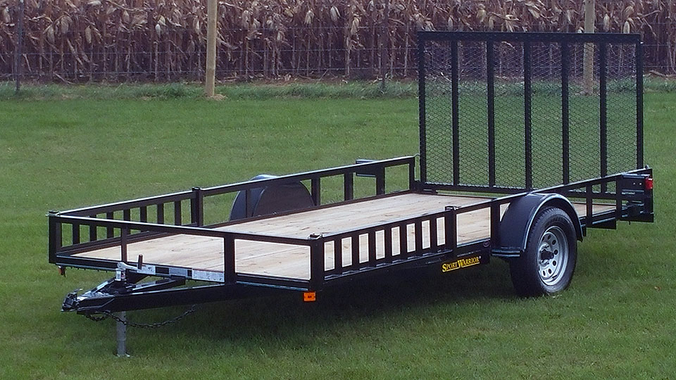 Single Axle Trailer with ATV PAckage