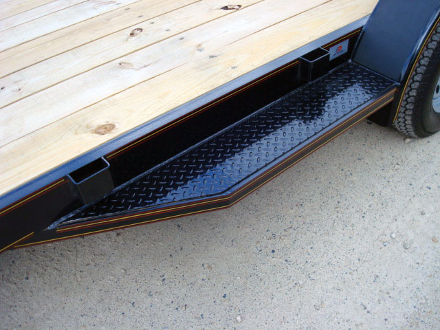 3 5 Ton Car Hauler Tilt Bed Trailer Johnson Trailer Co