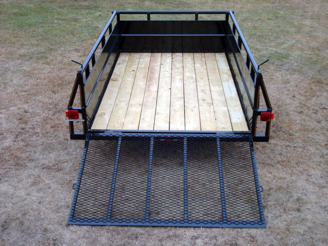 how to put sides on a utility trailer