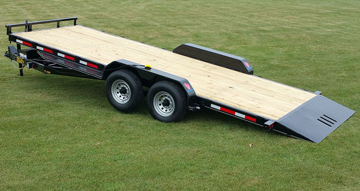 7 Ton Full Tilt Equipment Trailer