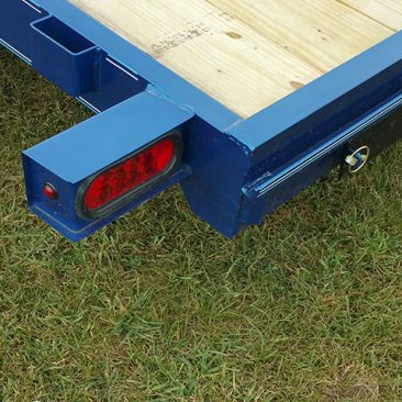 Wood Floor Car Hauler Trailer
