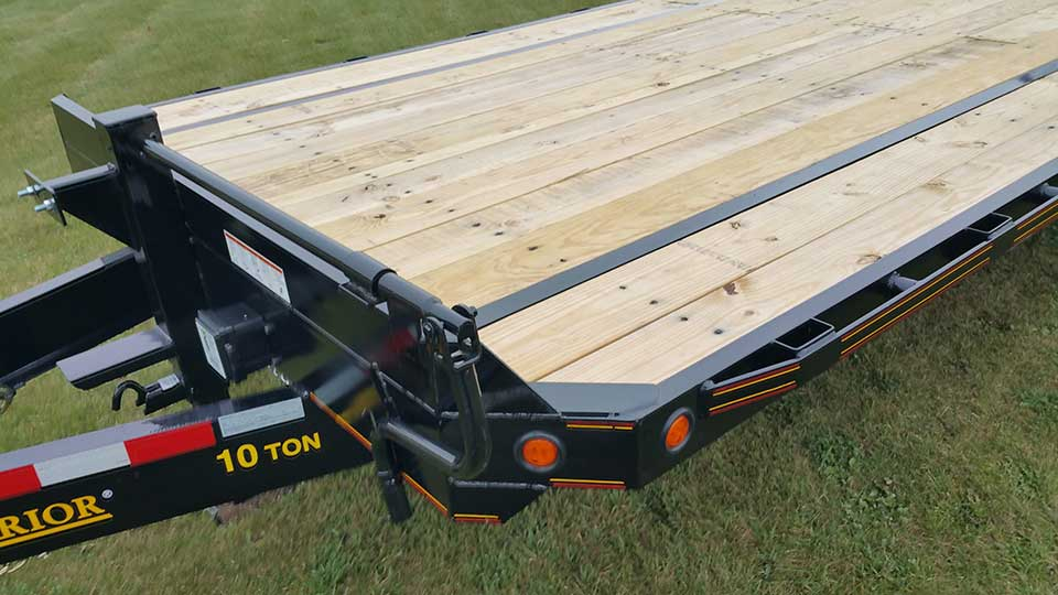 10 Ton Equipment Trailer