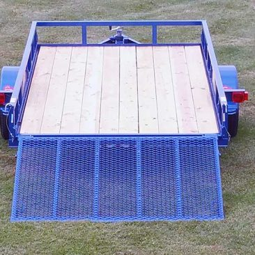 Single Axle Trailer w/Side Rails